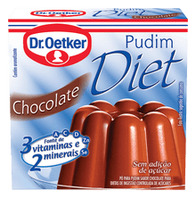 Pudim Diet Chocolate Dr. Oetker 30g