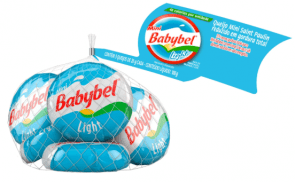 Queijo Mini Saint Paulin Light Babybel 100g