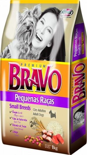 Ração Para Cães Bravo Supra Pequenas Raças 1kg
