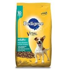 Ração Pedigree Para Cão Adulto de Raça Pequena 1kg
