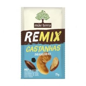 Remix Castanhas Mãe Terra 25g