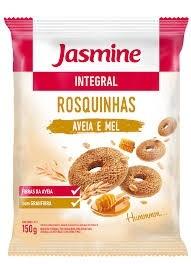 Biscoito Jasmine Rosquinha Aveia e Mel 150g