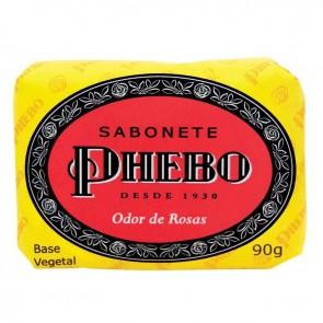 Sabonete De Glicerina Phebo Odor de Rosas 90g
