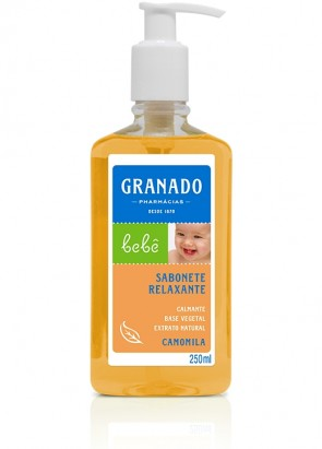 Sabonete Granado Bebe Relaxante Camomila 250ml