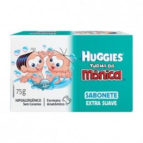 Sabonete Huggies turma da Monica Suave