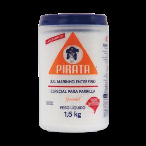 Sal Marinho Extrafino Parrilla Pirata 1,5kg
