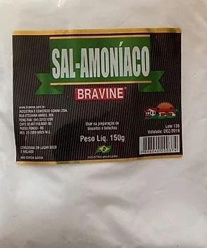 Sal-Amoniaco Bravine 150g