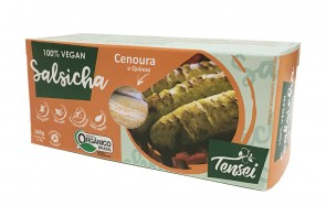 Salsicha Cenoura Tensei Vegan 160g