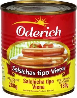 Salsicha Oderich Viena Lata 180g