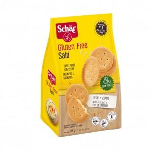 Biscoito Salgado S/Glúten S/Lac. Saltí Schar 175g
