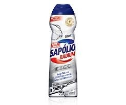 Sapólio Radium Limpa Inox Bom Bril 300ml