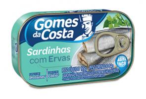 Sardinha Gomes da Costa Com Ervas 125g