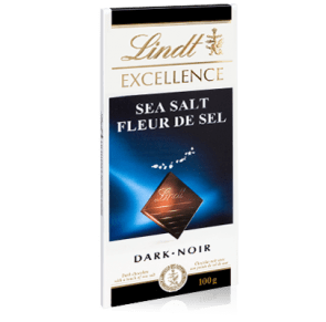 Chocolate Sea Salt Lindt 100g