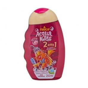 Shampoo Acqua Kids 2 em 1 200ml