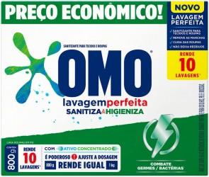Sabão em Pó Omo Sanitiza e Higieniza 1,6Kg