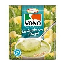 Sopa Vono Espinafre Com Queijo 16g