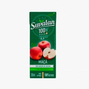 Suco Suvalan 100% Maça 200ml - 3 unid