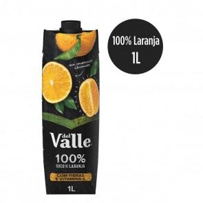 Suco de Laranja 100% Del Valle 1L
