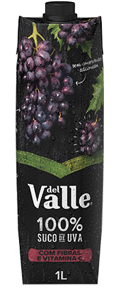 Suco Del Valle Uva 100% suco 1L