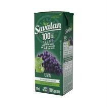 Suco Suvalan 100% suco Uva 200ml - 3 unid.