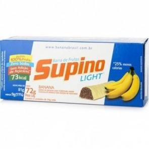 Supino Light Banana Chocolate Branco 72g