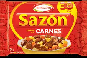 Tempero Sazon Vermelho Carnes 60g