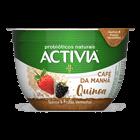 Activia Café da manhã Danone Morango/Frutas Vermelhas /Quinoa 170g