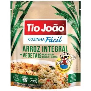 Arroz T. Joao Cozinha Facil Integral+Vegetais  250g