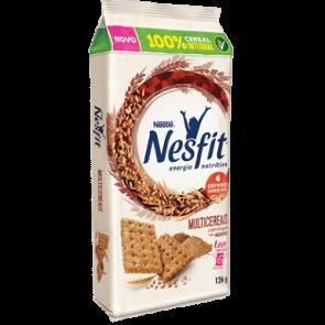 Biscoito Nesfit Integral 4 Cereais Multicereais com toque sabor azeite 126g