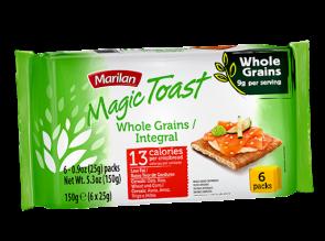 Torrada Magic Toast Integral Marilan 150g