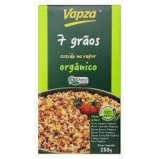 Vapza 7 Grãos Cozido no Vapor Orgânico 250g