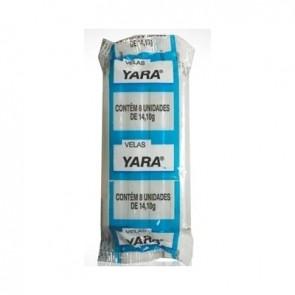 Vela Branca Yara c/8 Yara 14g