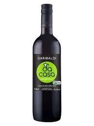 Vinho Tinto Seco Orgânico Da Casa Garibaldi 750ml