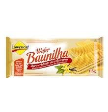 Wafer Baunilha Zero Lowcucar 115g