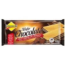 Wafer Chocolate Zero Lowcucar 115g
