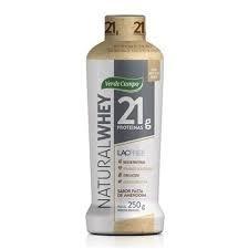 Iogurte Whey Natural Pasta de  Amendoim Verde Campo 250g