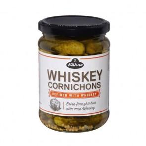 Pepino Cornichons Kuhne Whiskey 330g