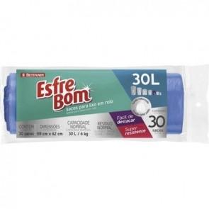 Saco de Lixo Esfrebom c/30 30L